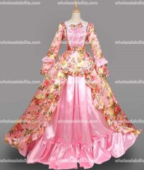 18th Century Rococo Dress Pink Marie Antoinette Victorian Dress Prom/Wedding Dress Ball Gown