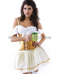 Lacy Beer Girl Cosplay Costume