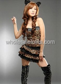 Women's Sexy Leopard Halloween Costume
