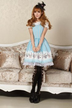 Sky Blue Alice Princess Lolita Dress for Sale