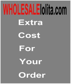 Extra Cost for Your Order Blouse