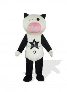 Custom Multi Color Plush Pig Costume for Adult