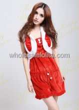 Fashionable Sexy Christmas Jumpsuit