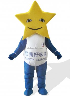 Star Plush Adult Monster And Fantasy Costume