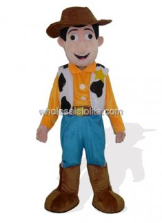 Handsome Cowboy Mascot Costume