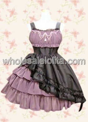 Classic Ruffles Cotton Punk Lolita Dress