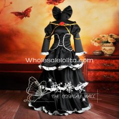IMITATION BLACK VOCALOID Rin Kagamine Cosplay Costume
