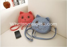 Lovely Smile Cat One Shoulder Bag Sweet Lolita Girl's Bag