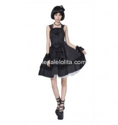 Black Cute Rabbite Princess JSK Sweet Lolita Dress