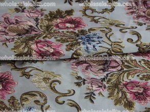 Royal Court Baroque Style Jacquard Fabric