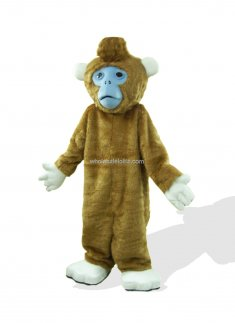 Lovely Silly Snub Nosed Monkey Costume
