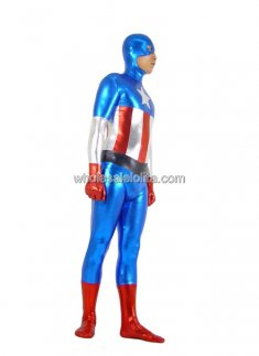Best Seller Glueing Spandex Superhero Costume