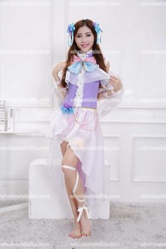 Love Live Angel Lolita Cosplay Costumes