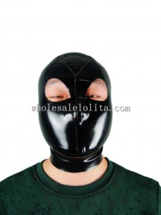 Latest Latex Hood with Eyes Nose Open No Mouth
