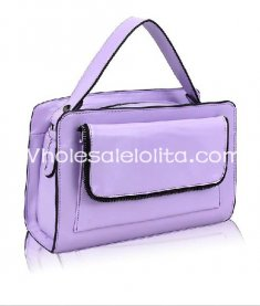Sweet Pure Lavender Lolita Bag Girls Totes Bag