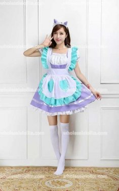 Lolita Candy Maid Cosplay Costume
