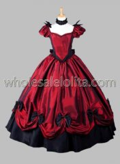 Gothic Victorian Dresses Red Princess Victorian Gown for sale