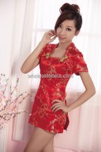 Red Sexy Cheongsam