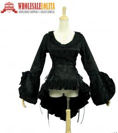Victorian Gothic Top Bodice Witch Jacket Reenactment Clothing