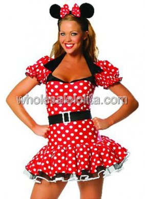Minnie Mouse Sexy Costume for Adult