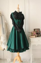 Versailles Green Vintage Gothic Style Dress