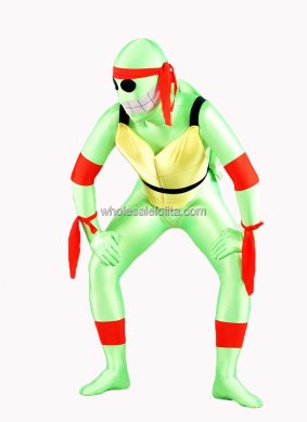 Green Turtle Spandex Casuits