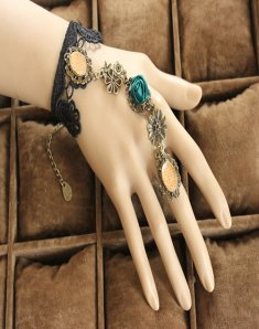 Gothic Beautiful Flower Fashion Lolita Bracelet