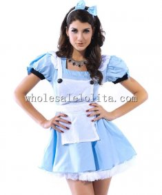 Fancy Maid Costume with Apron