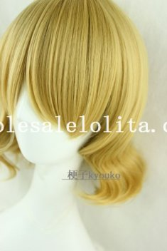 Cosplay Fashion Party Short Curly Hair Heat Resistant Wig