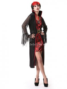 Lady Vampire Cosplay Halloween Costume Party Dress