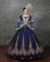 New Marie Antoinette Victorian Dress Prom Gown Halloween Dress