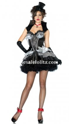 Adult Vampire Dark Queen Halloween Costume