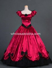 Southern Belle Victorian Princess Dress Gown Ball Gown Reenactment Clothing