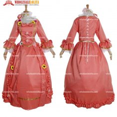 Women's Rococo Baroque Ball Gown Gothic Dress Cosplay