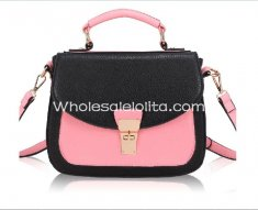 2014 Sweet Lolita Contrast Color Totes Bag/Messenger Bag