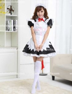 Cute Nurse Cosplay Maid Costume