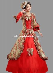 Historical Marie Antoinette Inspired Ball Gown Stage Costume Many Colors N10