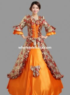 Historical Marie Antoinette Inspired Ball Gown Stage Costume Many Colors