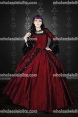 Gothic Silk Marie Antoinette Fantasy Gown Your Size Custom