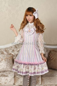 Light Purple Sweet Lolita Dress with Bow