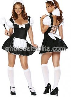 French Maid Halloween Costumes for Women