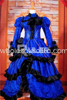 Hot Sale Noble Gothic Victorian Dress