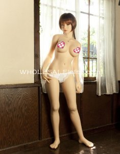 Lifelike Full Body Silicone Semi-solid Inflatable Sex Doll, Live Body Temperature, Water Injectable Breast