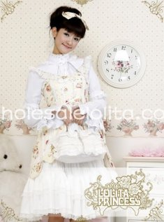 Gorgeous Recoco Princess Cotton & Lace JSK Lolita Dress