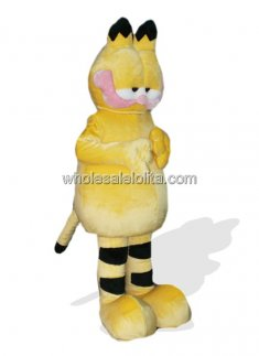 Super Cute Garfield Costume for Adult