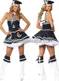 Unique Hot Sale Navy Costume