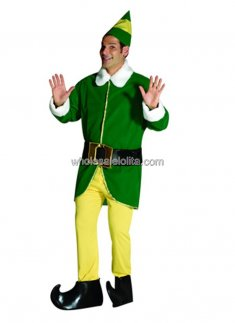 Deluxe Adult Male Elf Costume