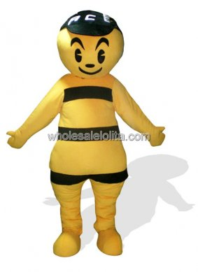 Adult Bee Plush Mascot Costume