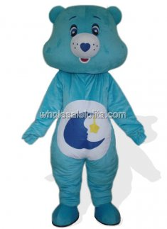 Blue Moon Plush Bear Costume for Adult