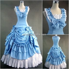 Hot Sale Sweet Pink Victorian Lolita Dress